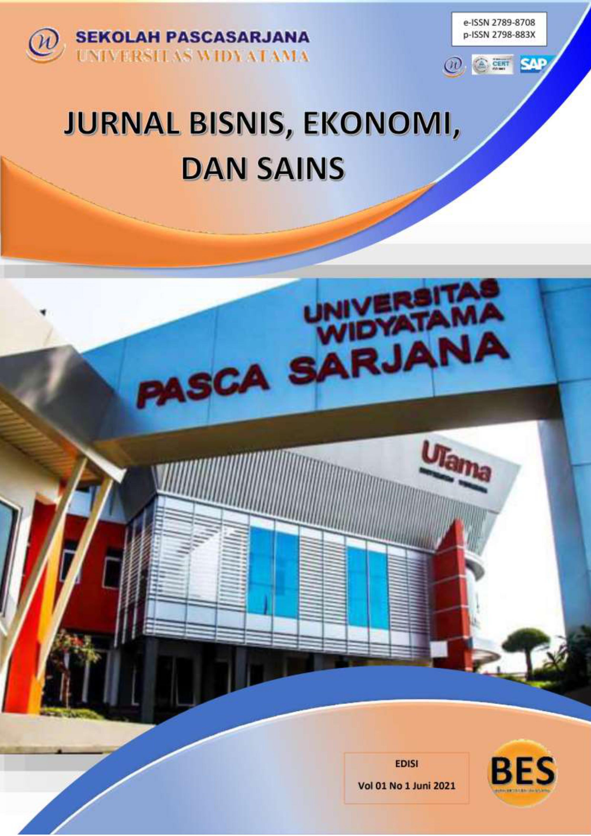 View Vol. 1 No. 1 (2021): Jurnal Bisnis, Ekonomi, dan Sains